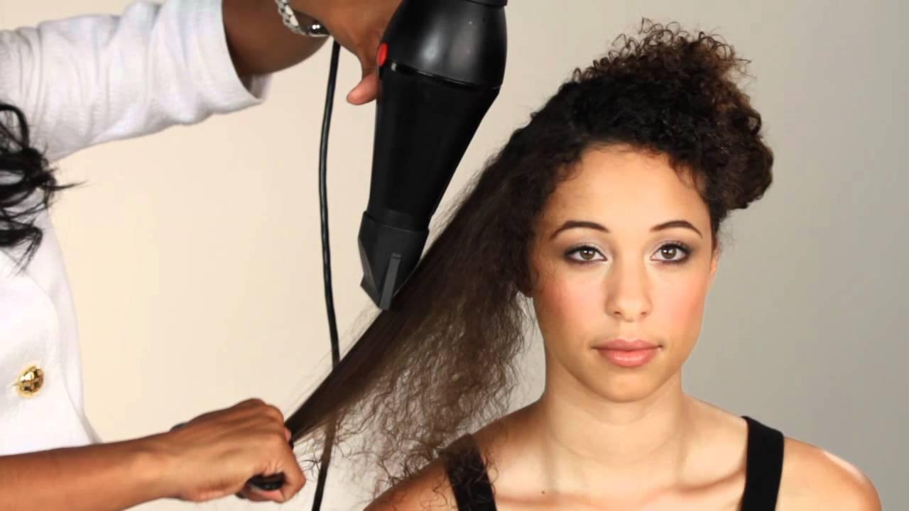 Black person hair salon