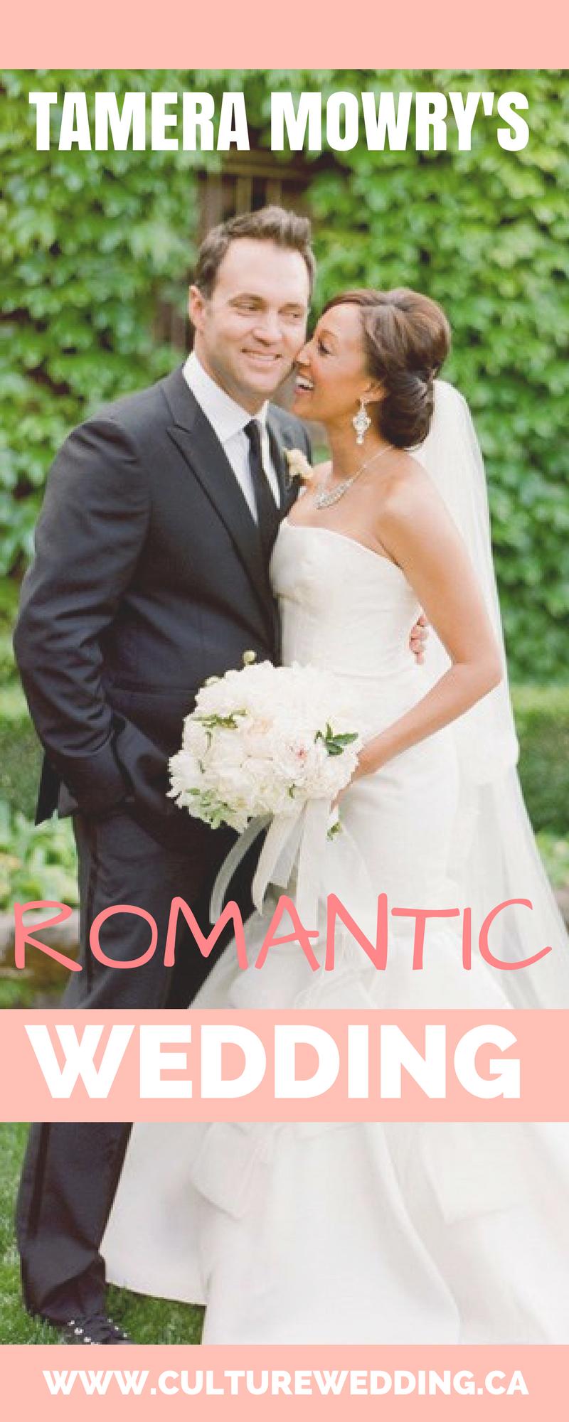 Celebrity Wedding Tamera Mowry Wedding To Adam Housley