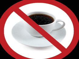 Coffee-say no