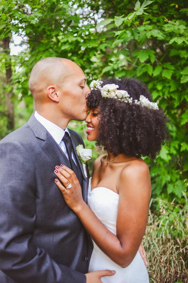 A Beautiful Botanical Garden Wedding