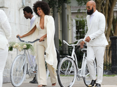 Solange's wedding photos