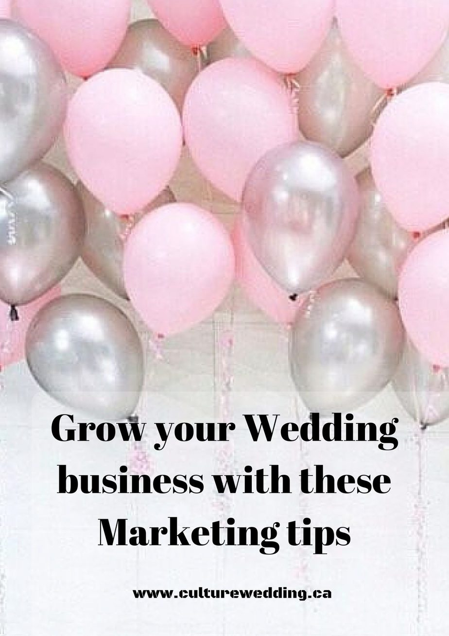 Grow your Wedding business with these Marketing tips
