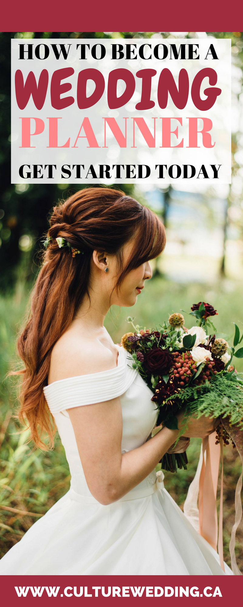 How to become a wedding planner, get started today.
