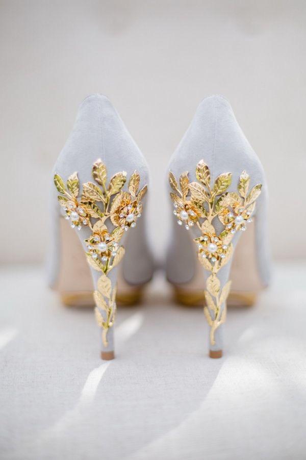 Wedding shoes for an elegant wedding
