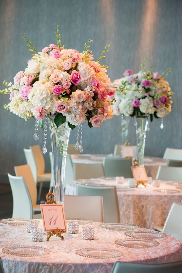 Baby pink wedding inspiration