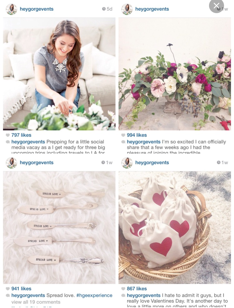 Using Instagram to book more brides