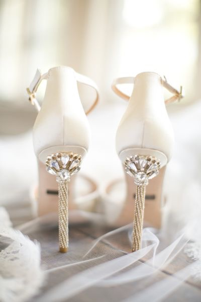Sexy heels for your wedding day
