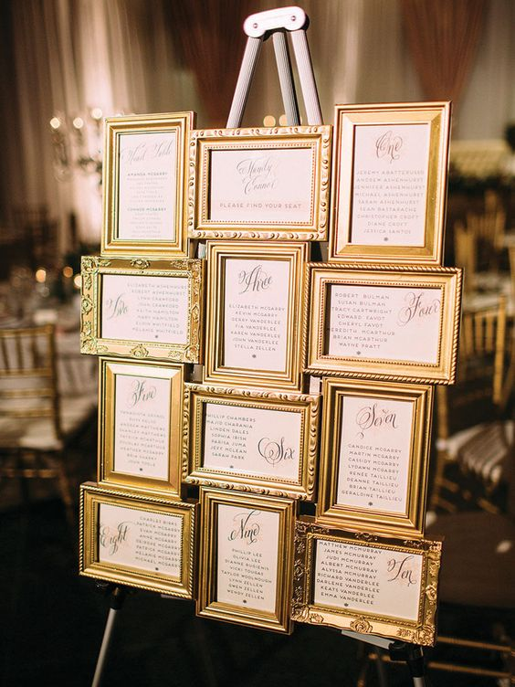 How to plan the perfect Gold Wedding