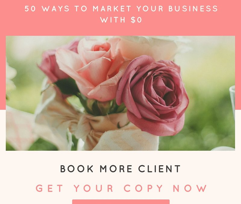 50 WAYS TO MARKET YOUR BUSINESS WITH $0