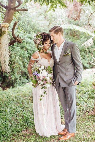 Interracial wedding relationships