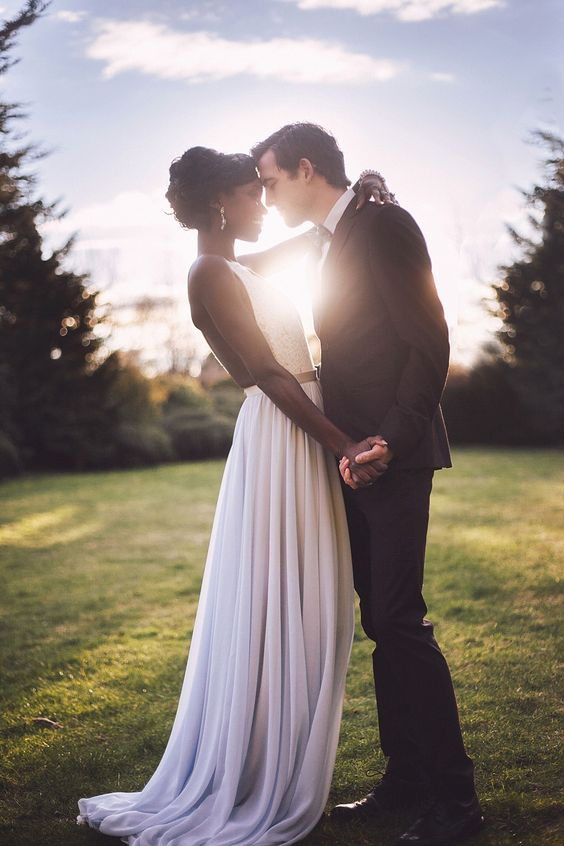 Interracial weddings
