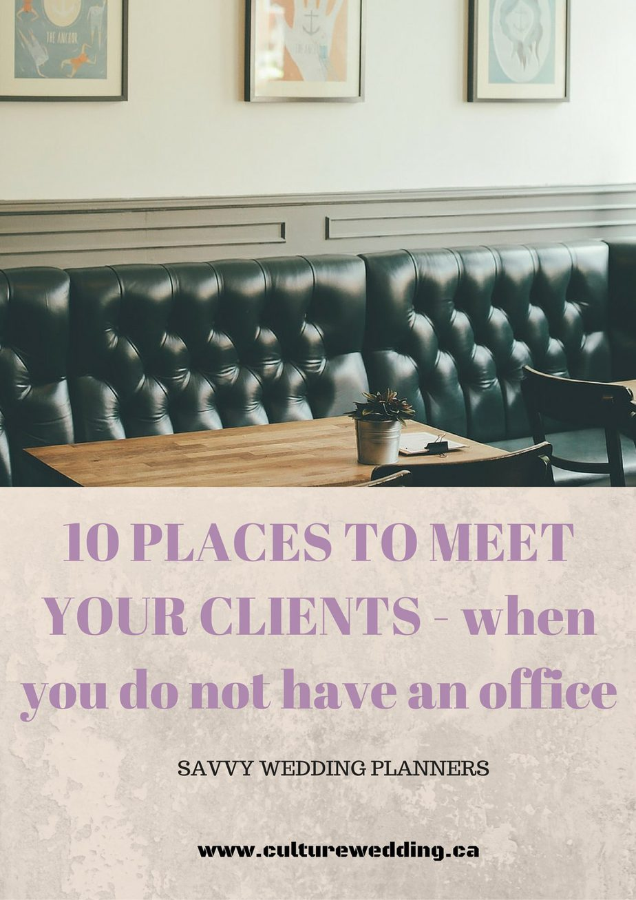 10 Places to meet your ideal clients