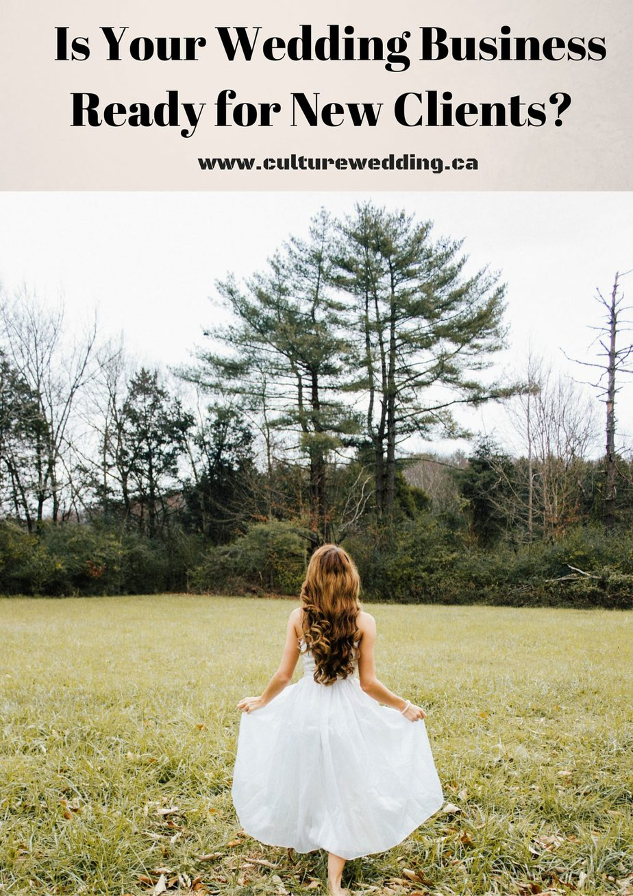 Is Your Wedding Business Ready for New Clients