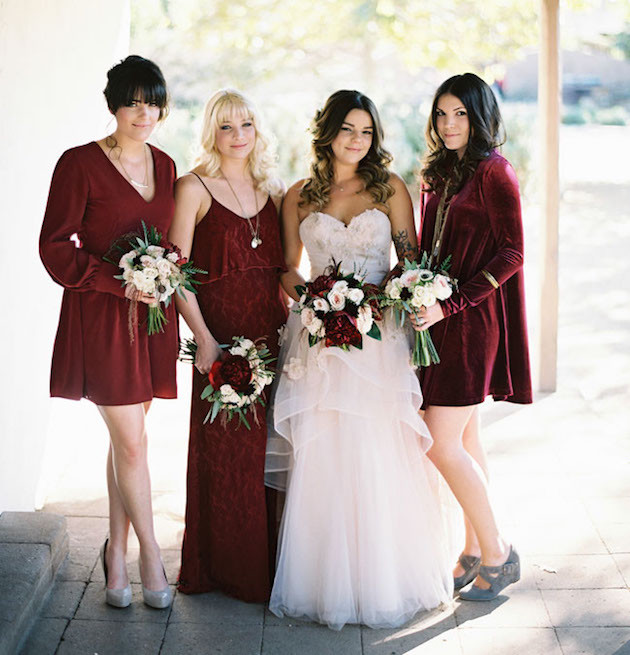 Mix and Match bridesmaids dresses 10