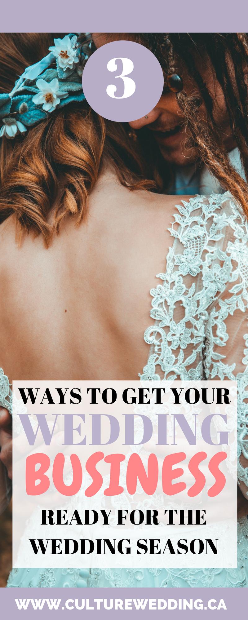 book more weddings. How to get more weddings