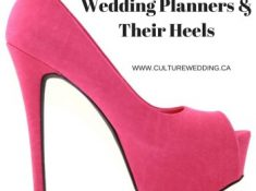 wedding planners and their heels