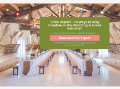 10 Ways to stay Creative in the Wedding Industry 1