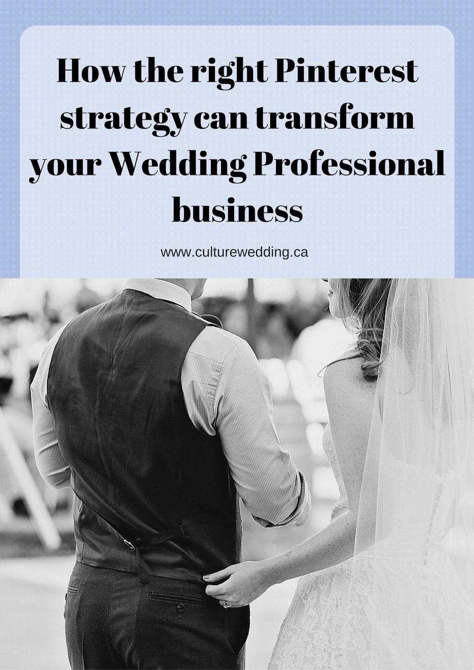 How the right Pinterest strategy can transform your Wedding Professional business
