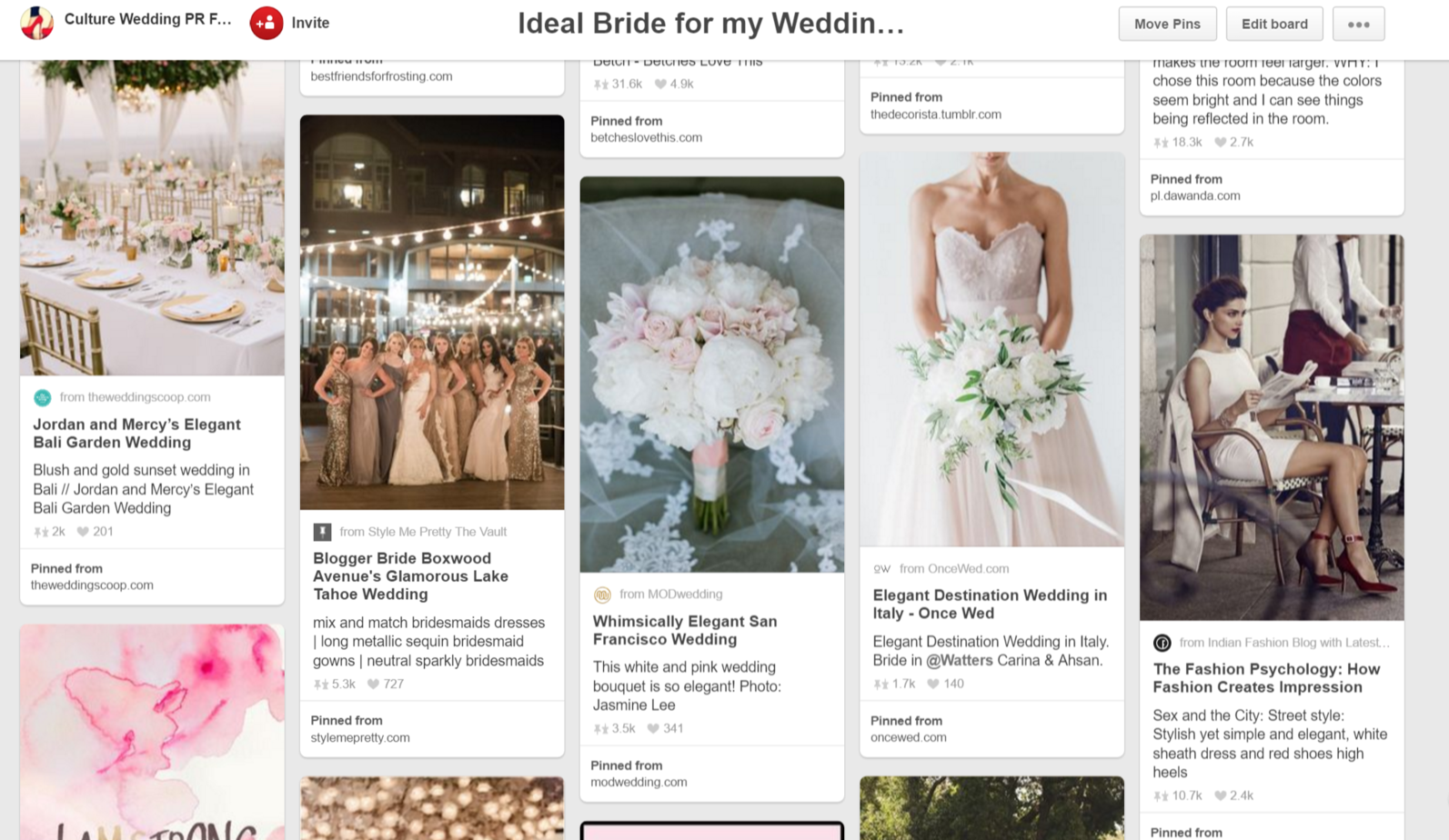 Finding your ideal Bride