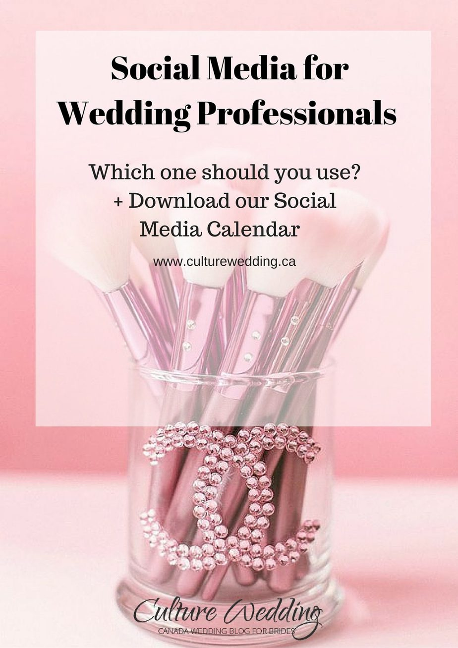 Social Media for Wedding Professionals
