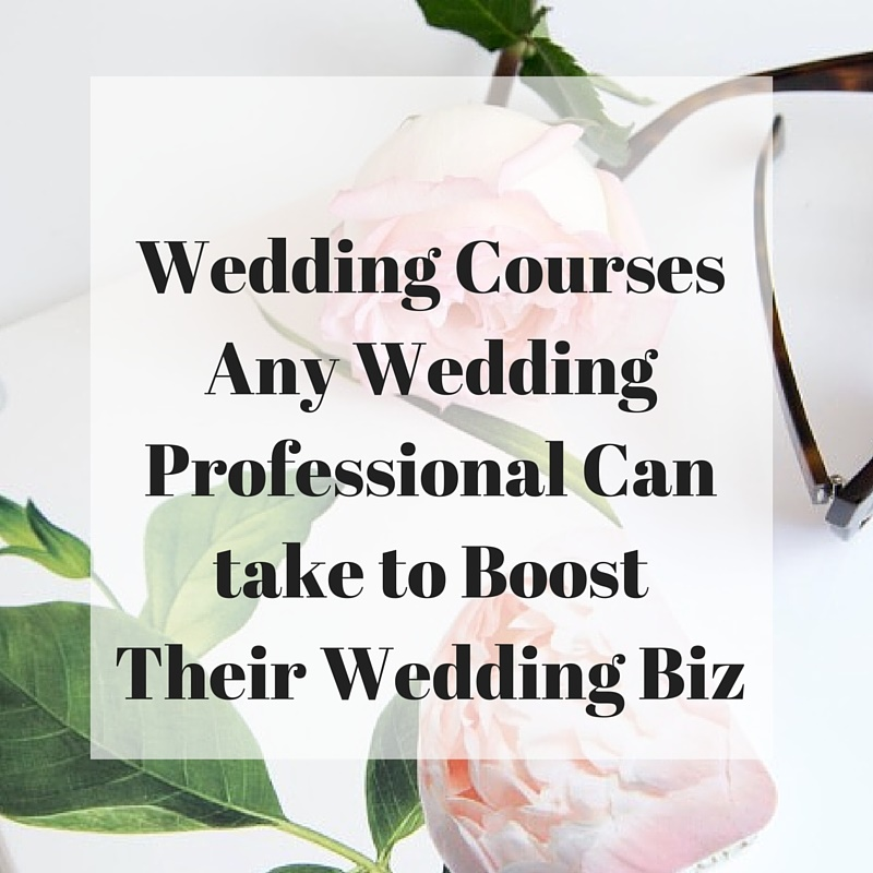 Wedding Professional Courses