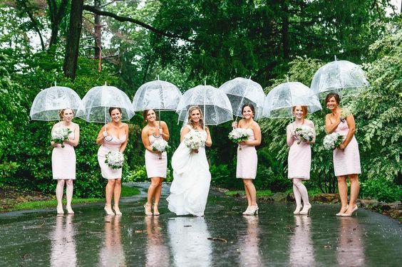 Wedding umbrellas props