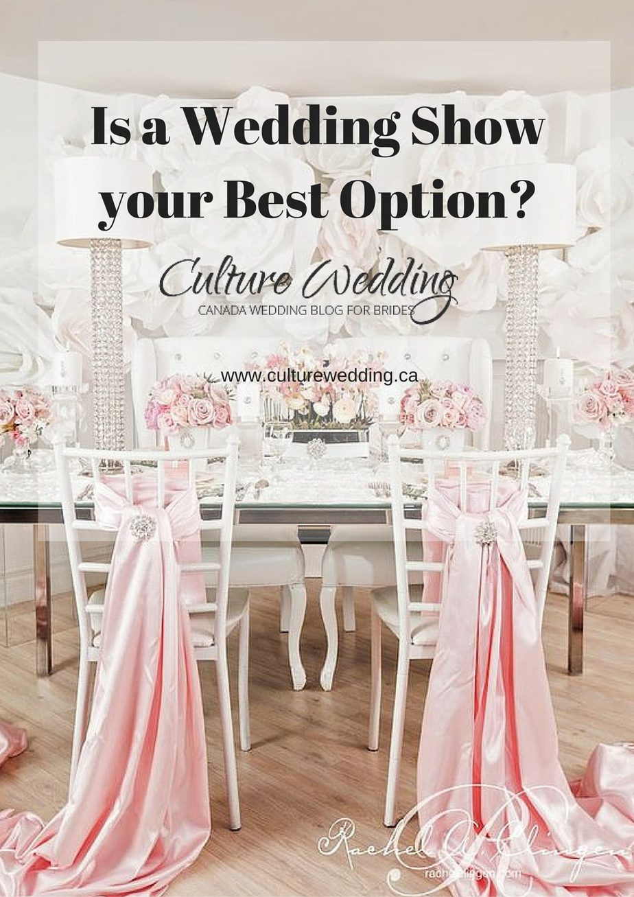 Is a Wedding Show your Best Option?