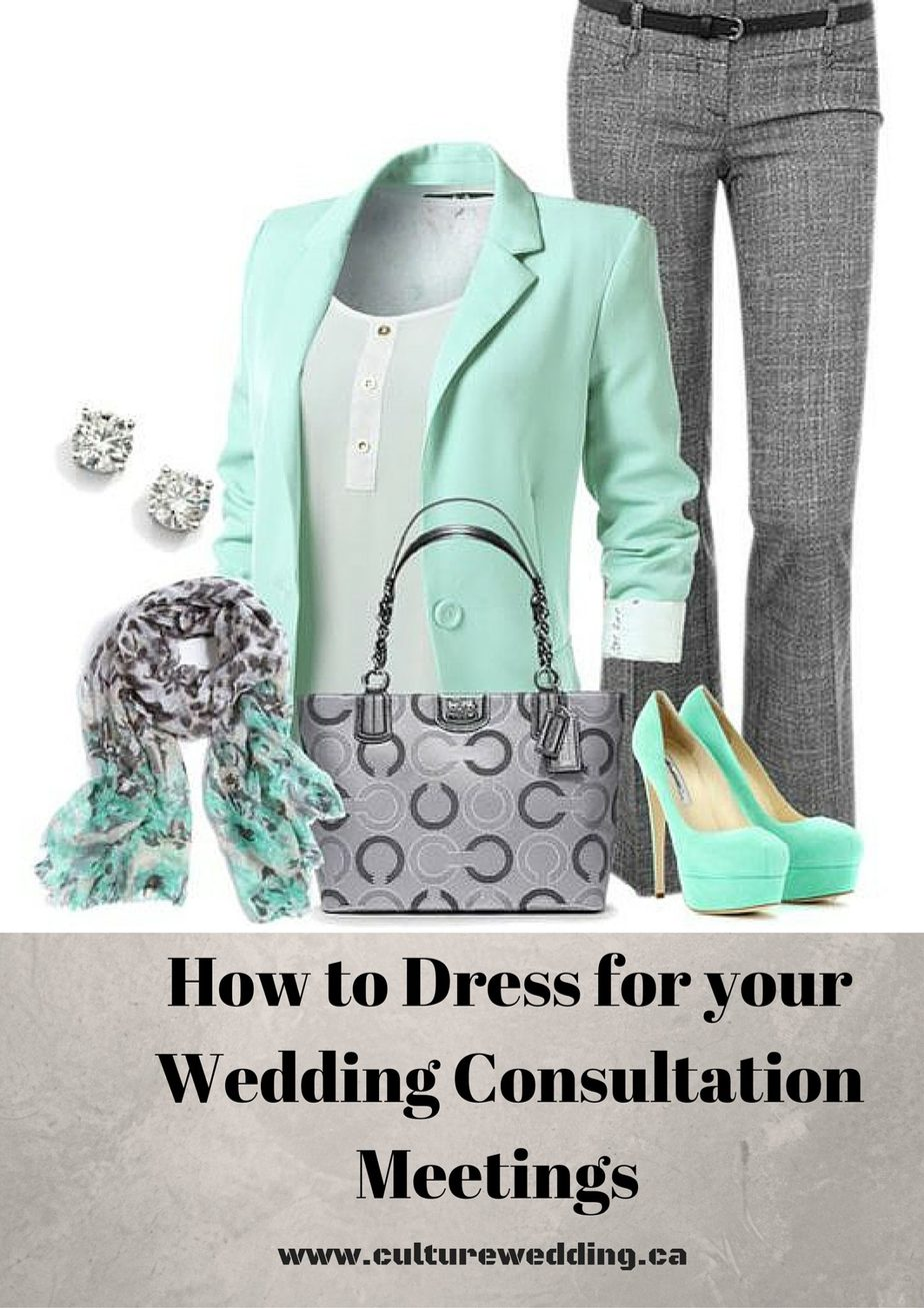 How to dress for your wedding consultation