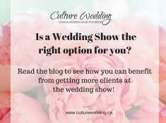 Is the wedding show the best option