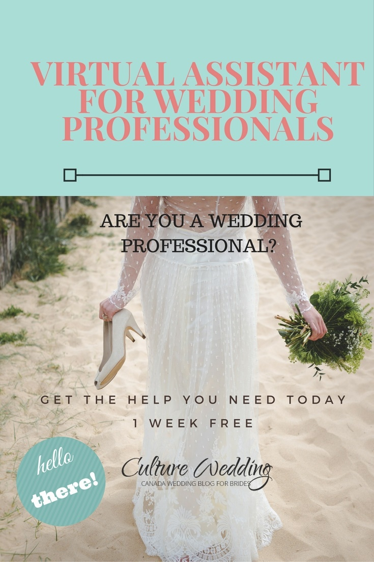 Virtual Assistant for Wedding Professionals