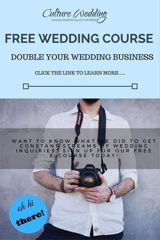 Double and grow your Wedding Business by getting more clients