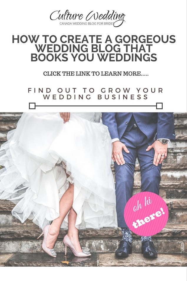 How to create a gorgeous wedding blog that books you weddings