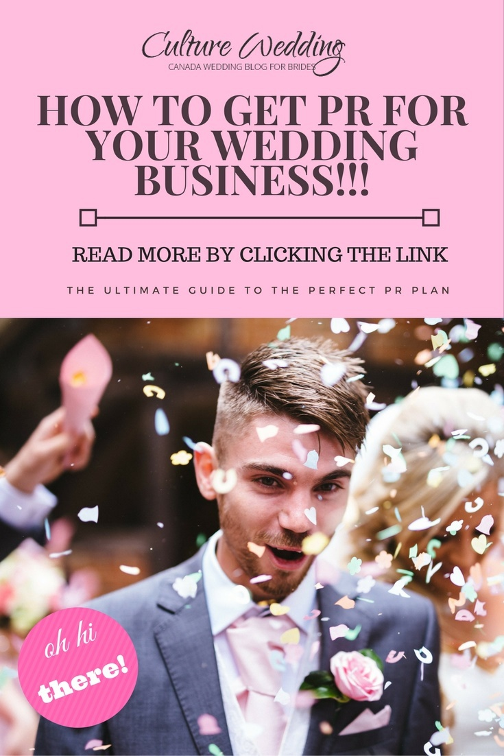 How to get PR for your Wedding Business