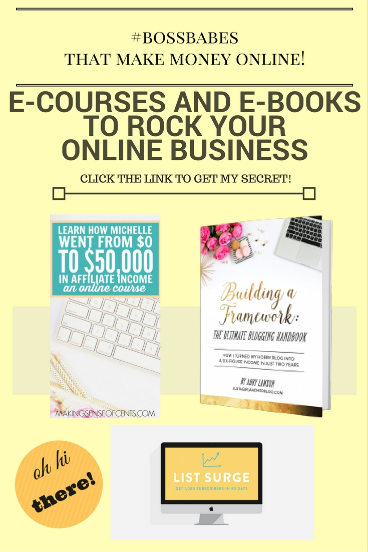 The Best Blogging eBooks & eCourses for Beginning Bloggers