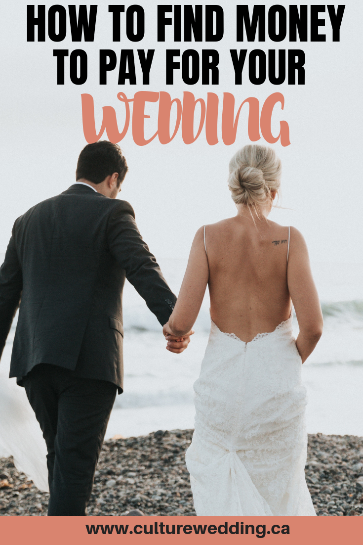 Creative wedding ideas on a budget so you can afford to pay for your day. How to pay for a wedding on your own. Find out who pay for what at a wedding. Planning a wedding on a budget. Tips for paying for wedding #weddingbudget #payingforawedding
