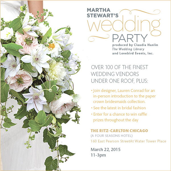 Martha Stewart Wedding blogs