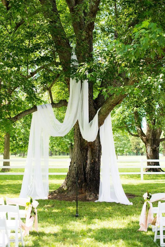 simple outdoor wedding decor ideas
