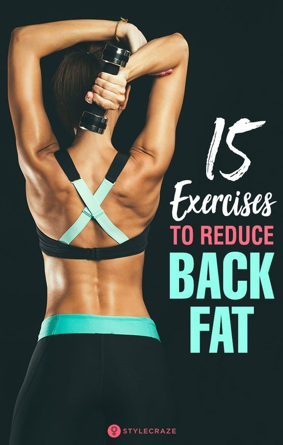 Are you super insecure about your back fat? Seeing fat bulge out from the bra strap is frustrating! I have good news! The back fat exercises with dumbbells that I'm sharing today will help you get fit, confident and bring sexy back to your back. Some exercises target the muscles in the bra strap area better than others... and when done consistently - along with a complete program - they can help reduce back fat and melt unwanted those bulges. Ready to blast away your back fat? Let's do this!
