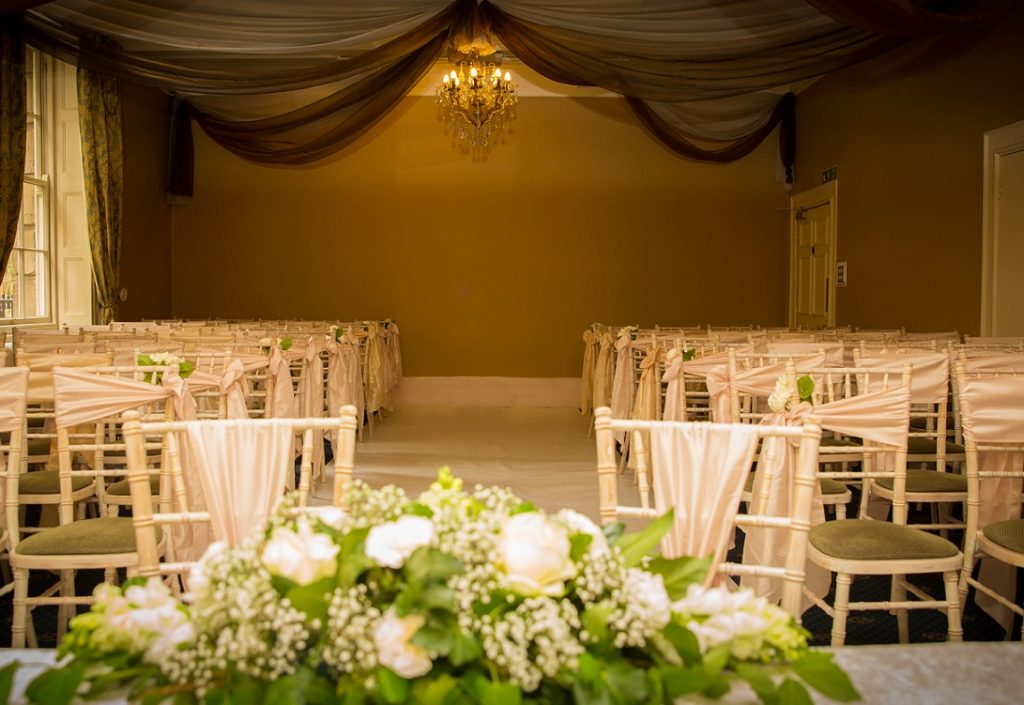Wedding ceremony at the City Room