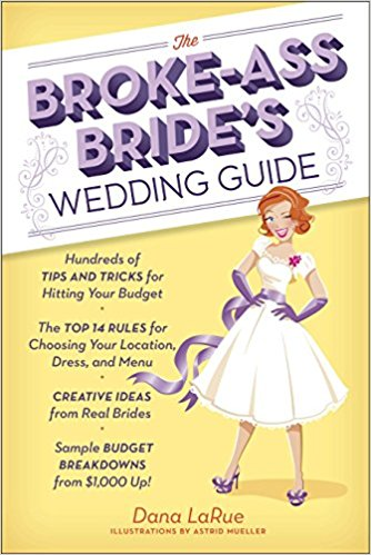 The broke-ass bride's wedding book