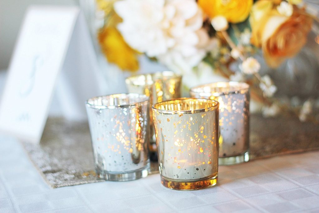 candle votives for your wedding