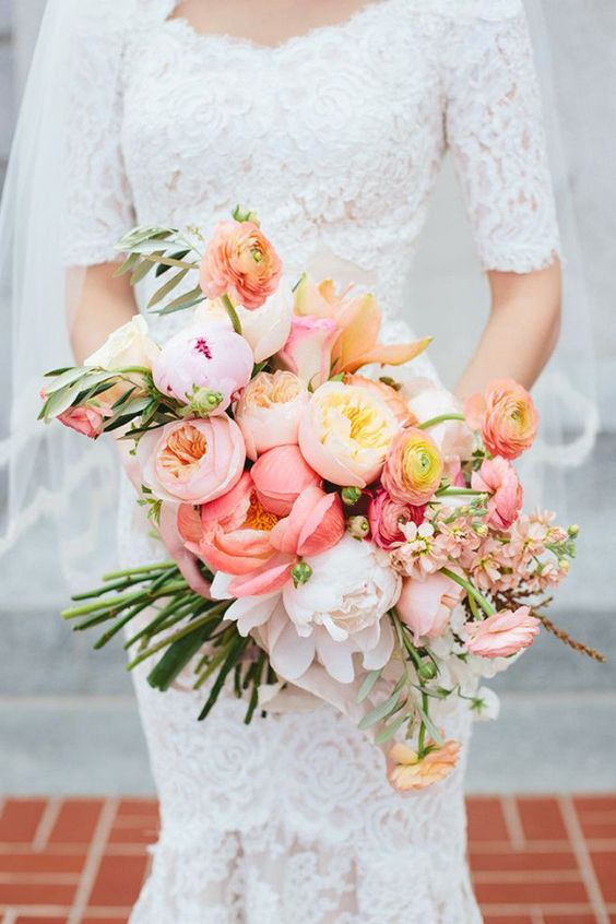 Wedding bouquet Inspiration. Valetine's Day Wedding
