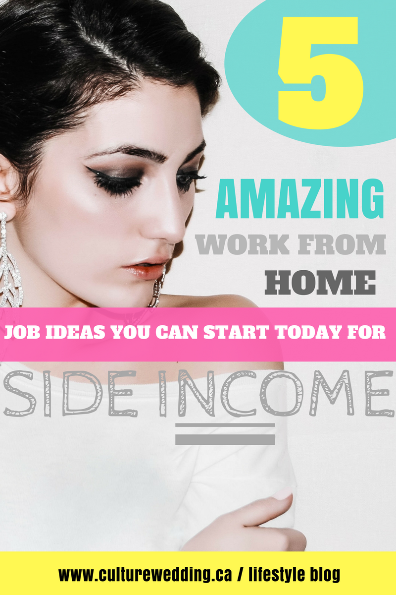 5 Amazing work from home ideas you can start today to make extra money from home. Launch these small scale business ideas with little investment and manage them all online. money making ideas | money making ideas for stay at home moms | work from home ideas | make money fast | make money quick | #makemoney #makemoneyonline #earnfromhome #earnonline