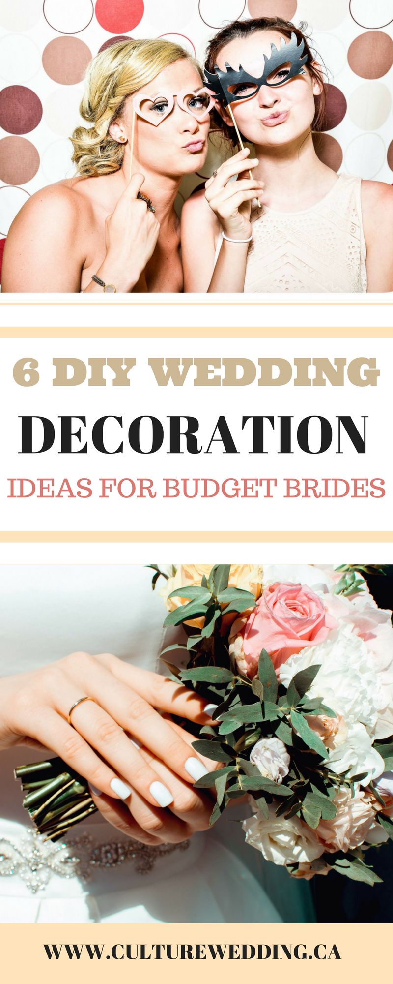 6 UNIQUE BEAUTIFUL DIY WEDDING RECEPTION IDEAS ON A BUDGET. DIY Wedding decorations for brides on a budget. wedding ideas on a budget. DIY Wedding reception decorations on a budget. DIY Country Wedding Décor. Ways To Save Money On Your Wedding. Homemade wedding decorations. #weddingdecorations #diywedding