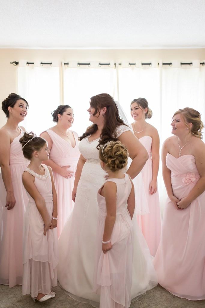 Pastel Pink Meets Gold White An Elegant Wedding