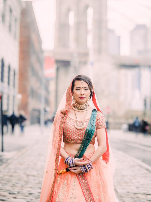 Engagement photos. An elegant Hindu engagement photos in NY Brooklyn/ Engagement photos. Hindu wedding. An elegant Hindu wedding. Cultural couples. Engagement photo ideas. Unique engagement photo ideas. Hindu engagement celebration. Style shoot photos #hinduwedding #culturalwedding