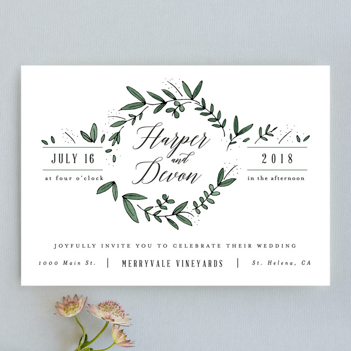 The Most Affordable Wedding Invitations From Minted
