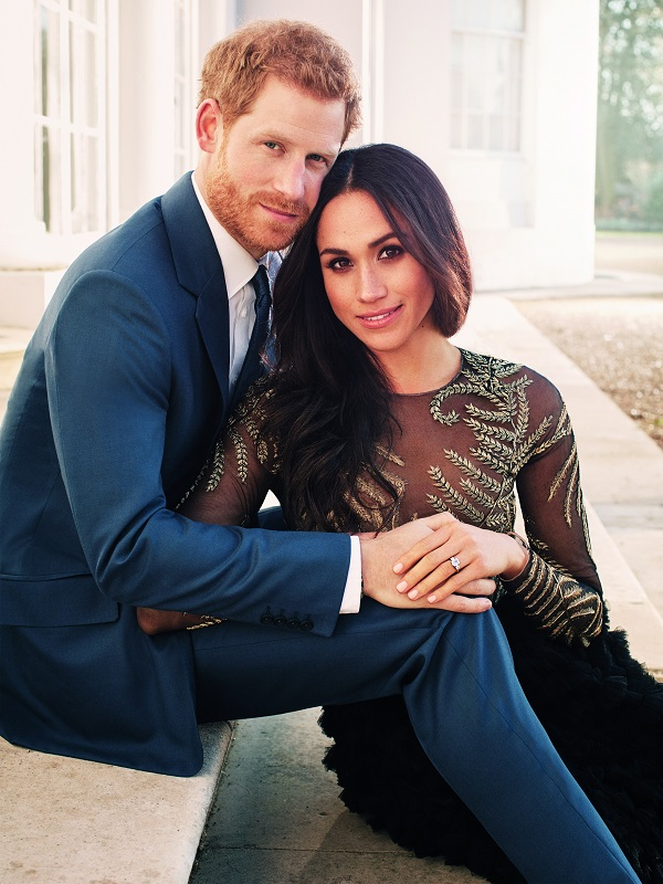 Princess Harry and Megan Markle engagement photos
