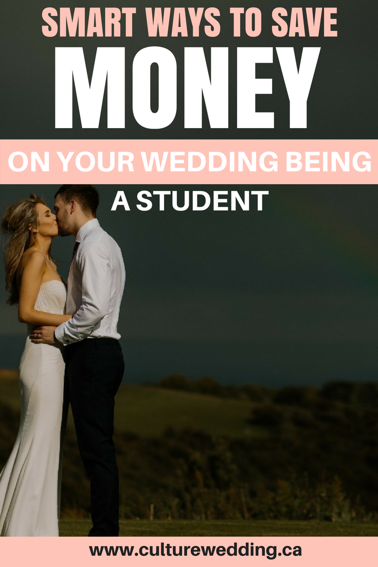 Save money on your wedding especial if you are a student? If you are a student in college or University, we have a few amazing tips on how to save money on your wedding. The perfect tips for planning a wedding on a budget. Planning a wedding on a budget doesn't have to look cheap. You can plan a luxurious wedding on a small budget #weddingplanning #weddingbudget #weddingreception #weddingideas #student #savingmoney