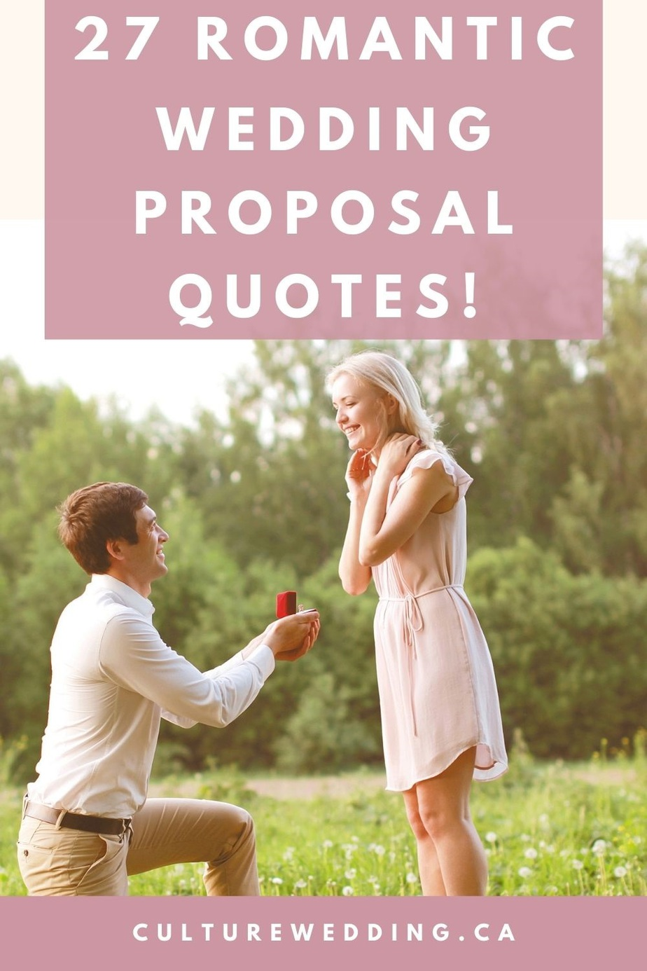 Check out the post for our best wedding proposal quotes! If you are looking for will you marry me quotes to use for your proposal, you have come to the right place. If you don't know what to say when proposing, we have plenty of great ideas for you too!